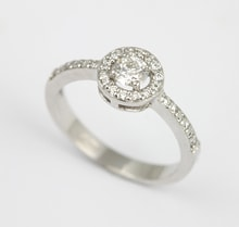 ENGAGEMENT RING WITH DIAMONDS - DIAMOND ENGAGEMENT RINGS - ENGAGEMENT RINGS WITH GEMSTONES