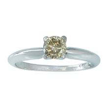 White gold ring with Fancy diamond - Diamond rings