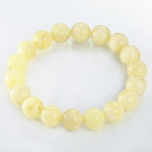 YELLOW AMBER BRACELET - GEMSTONE BRACELETS - JEWELLERY BY GEMSTONE