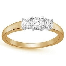 ENGAGEMENT RING IN GOLD - ENGAGEMENT RINGS WITH GEMSTONES