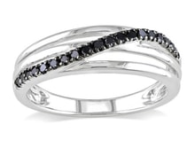 DIAMOND SILVER RING - DIAMOND RINGS - RINGS