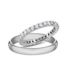 Diamond wedding rings in white gold - Diamond Wedding Rings