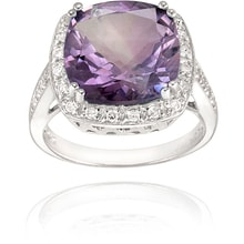 COCKTAIL RING WITH AMETHYST - JEWELLERY SALE