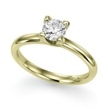 DIAMOND RING, GOLD - DIAMOND ENGAGEMENT RINGS - ENGAGEMENT RINGS WITH GEMSTONES