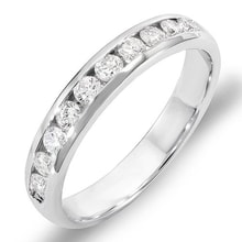 ANNUAL MEN'S RING WITH DIAMONDS - MEN'S WEDDING RINGS - WEDDING RINGS WITH GEMSTONES