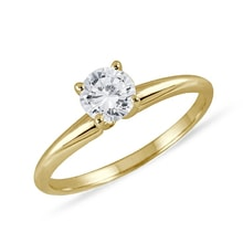 Gold diamond ring - Fine Jewellery