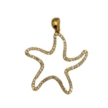 Pendant starfish - Diamond Pendants