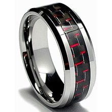 Ring made of tungsten - Jewellery Sale