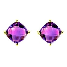 AMETHYST EARRINGS - AMETHYST EARRINGS - EARRINGS