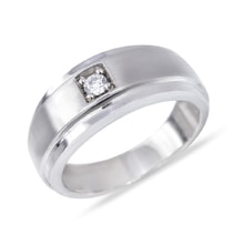 Men's diamond engagement ring - Fine Jewellery