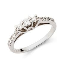 Diamond engagement ring - Diamond engagement rings