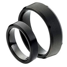 WEDDING RINGS MADE OF TUNGSTEN - JEWELLERY SALE