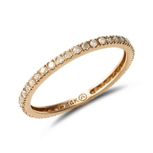 Golden wedding ring - Women's wedding rings