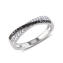 Diamond ring sterling silver - Diamond Rings