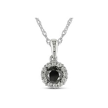 Black diamond pendant - Diamond Pendants