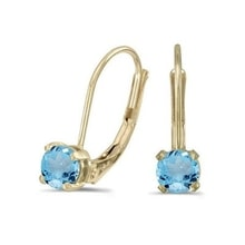 EARRINGS WITH TOPAZ - TOPAZ EARRINGS - EARRINGS
