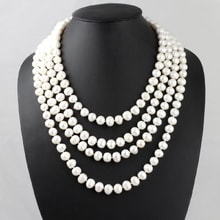 Endless pearl necklace - Pearl necklace
