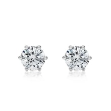 Diamond 14kt gold earrings - Stud Earrings