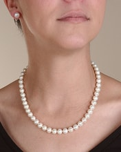 NECKLACE AND EARRINGS SET OF PEARLS - PEARL SETS - PEARLS
