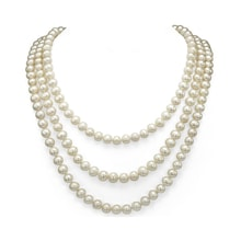 Necklace with pearls - Pearl necklace