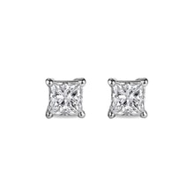 Diamond earrings 0.01kt in 14kt gold - Stud Earrings