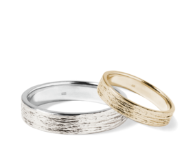 Combined Wedding Rings