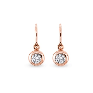 CHILDREN'S DIAMOND EARRINGS - CHILDREN'S EARRINGS - EARRINGS