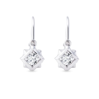 BABY 14KT WHITE GOLD EARRINGS - WHITE GOLD EARRINGS - EARRINGS