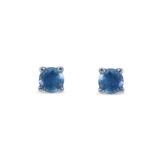 TOPAZ 14KT GOLD EARRINGS - TOPAZ EARRINGS - EARRINGS