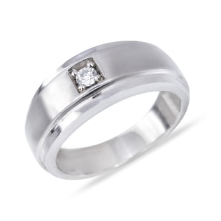 MEN'S DIAMOND ENGAGEMENT RING - RINGS FOR HIM - WEDDING RINGS