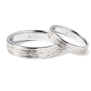 GOLD WEDDING RINGS - WHITE GOLD WEDDING RINGS - WEDDING RINGS