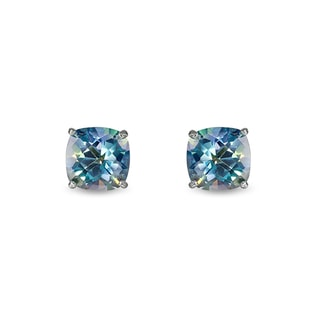 TOPAZ STUD EARRINGS IN 14KT GOLD - TOPAZ EARRINGS - EARRINGS