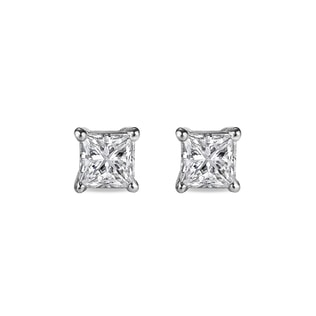 DIAMOND EARRINGS 0.01KT IN 14KT GOLD - STUD EARRINGS - EARRINGS