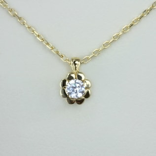 BABY FLOWER PENDANT - DIAMOND PENDANTS - PENDANTS