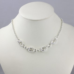 MASSIVE STERLING SILVER NECKLACE - STERLING SILVER PENDANTS - PENDANTS
