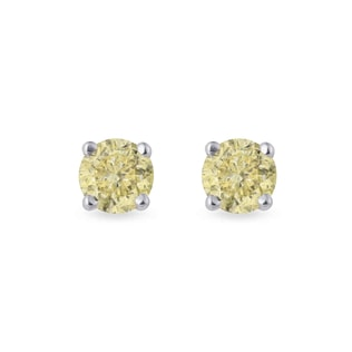 GOLD DIAMOND EARRINGS - STUD EARRINGS - EARRINGS