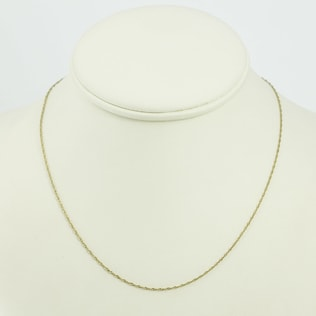 GOLDEN CHAIN - GOLD CURB CHAINS - PENDANTS