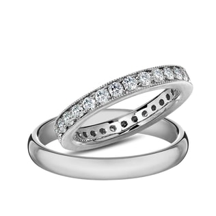 DIAMOND 14KT GOLD RING - DIAMOND WEDDING RINGS - WEDDING RINGS