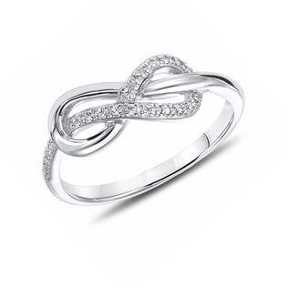 """INFINITY"" STERLING SILVER RING - STERLING SILVER RINGS - RINGS"