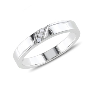 MEN'S RING IN STERLING SILVER - STERLING SILVER FINE JEWELLERY - FINE JEWELLERY