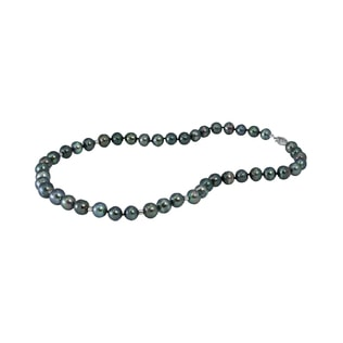 TAHITIAN PEARL NECKLACE IN 14KT GOLD - PEARL NECKLACES - PEARL JEWELLERY