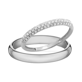 DIAMOND WEDDING RING IN 14KT GOLD - DIAMOND WEDDING RINGS - WEDDING RINGS