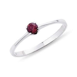 SILVER RING WITH TOURMALINE - TOURMALINE RINGS - RINGS