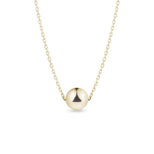 Gold chain with 5.9 mm gold ball