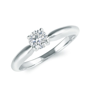 BRILLIANT ENGAGEMENT RING - SOLITAIRE ENGAGEMENT RINGS - ENGAGEMENT RINGS