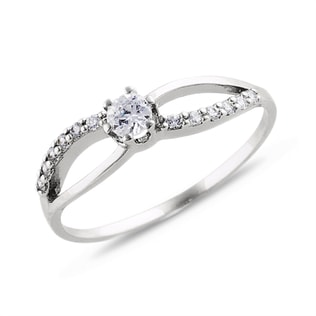 ENGAGEMENT RING WITH DIAMONDS - ENGAGEMENT DIAMOND RINGS - ENGAGEMENT RINGS