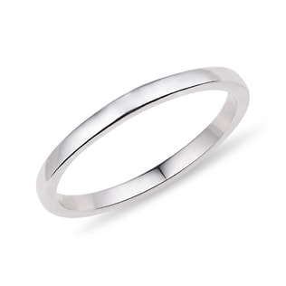 WEDDING RING IN WHITE GOLD - RINGS FOR HER - WEDDING RINGS