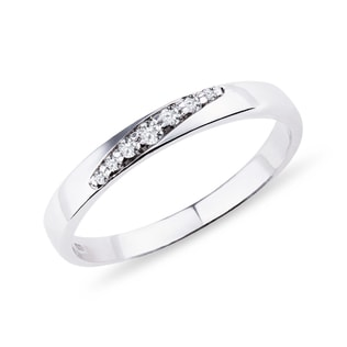 GOLD DIAMOND RING - RINGS FOR HER - WEDDING RINGS