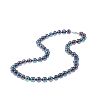 ELEGANT PEARL NECKLACE - PEARL NECKLACES - PEARL JEWELLERY