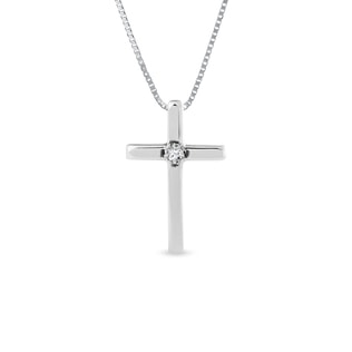 Children's pendant in the shape of a cross